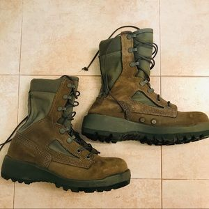 Authentic Combat Military Boots